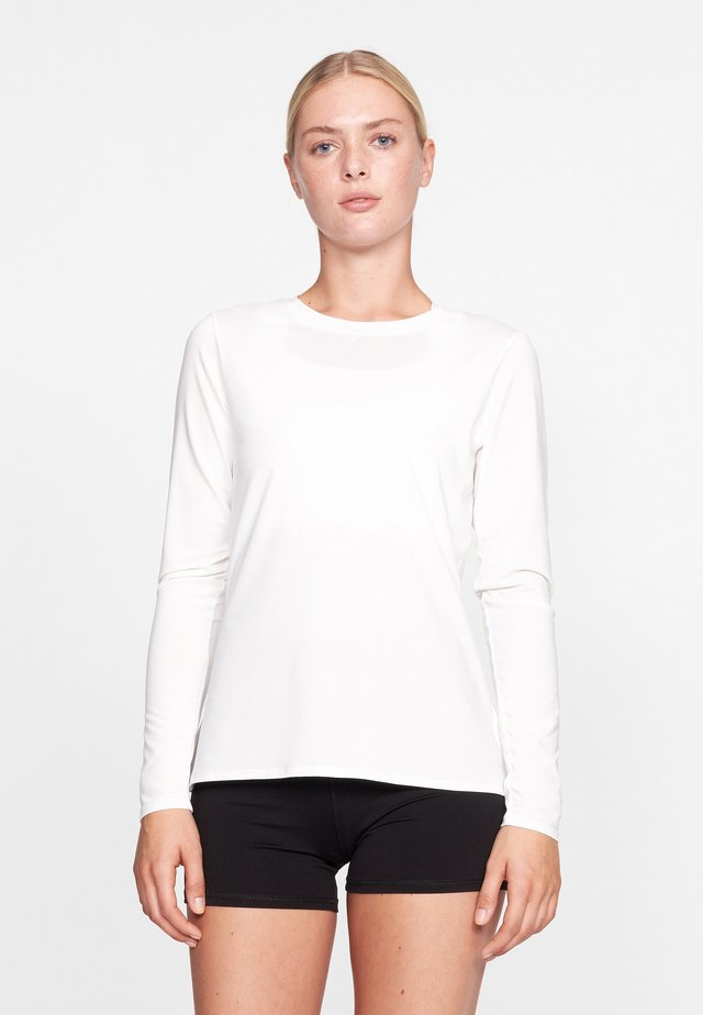 HERITAGE  - Long sleeved top - white