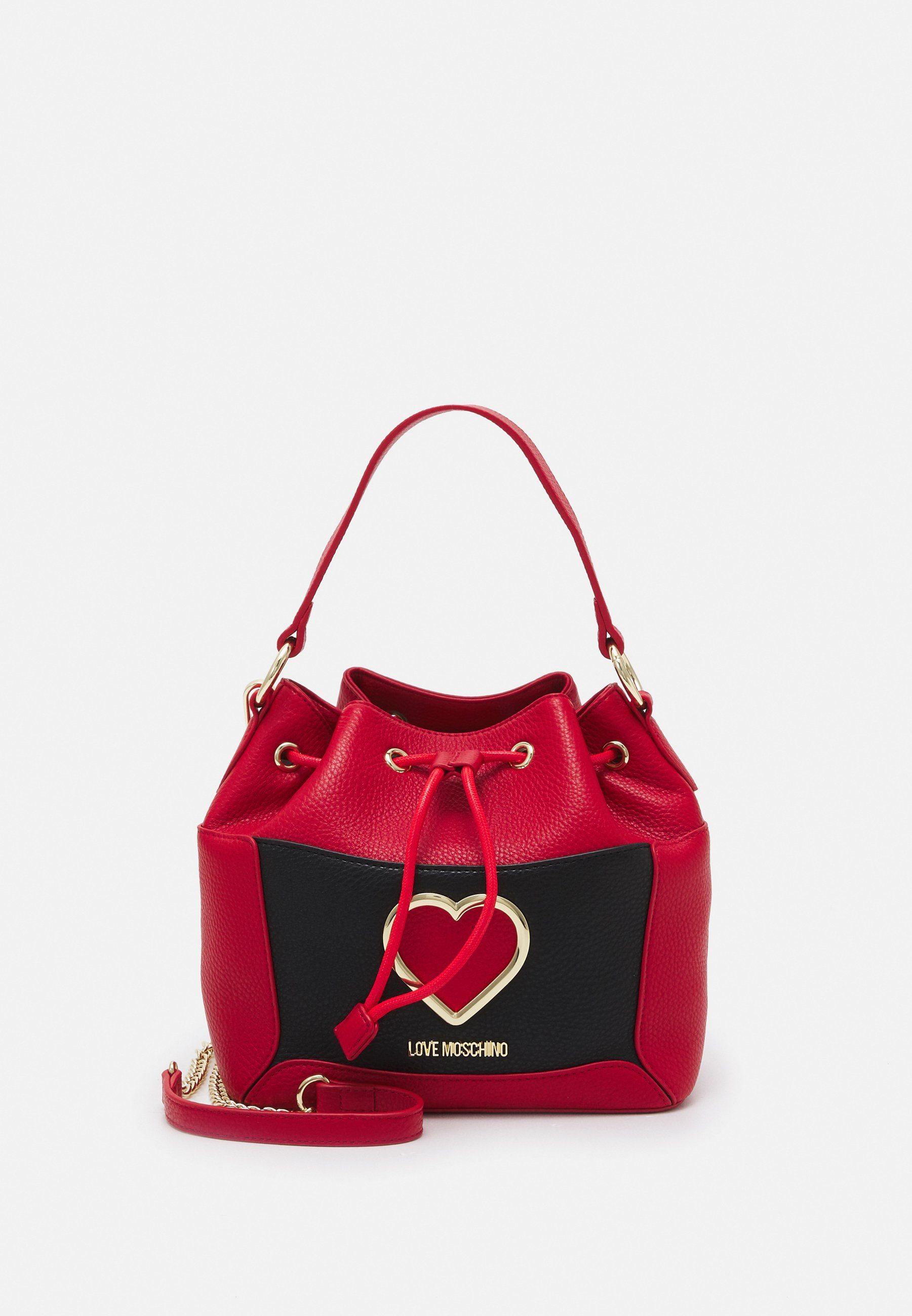 Women COLORBLOCK HEART BUCKET - Handbag
