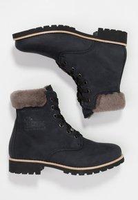Panama Jack - IGLOO - Lace-up ankle boots - black - 3