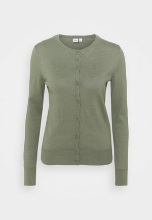CREW - Cardigan - sea mist green