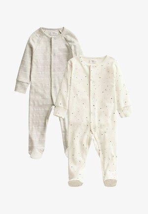 2 PACK - Sleep suit - gebroken wit