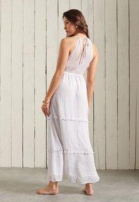 Superdry - MARGAUX - Maxi dress - white polka dot - 1