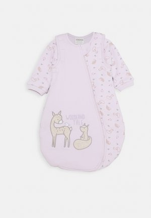 Baby's sleeping bag - light lilac