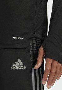 adidas Performance - TIRO 21 TRAININGSOBERTEIL - Veste de survêtement - black - 4