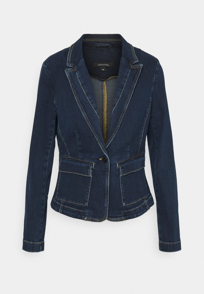 comma - Denim jacket - dark blue
