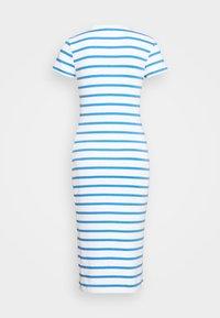 Polo Ralph Lauren - PIMA - Žerzejové šaty - white/rivera blu - 7