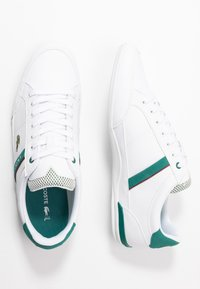 Lacoste - CHAYMON - Sneakers - white/green - 1