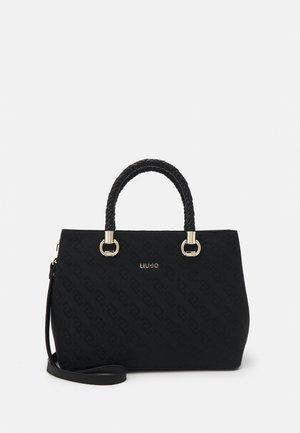 SATCHEL DOUBLE ZIP - Handbag - nero