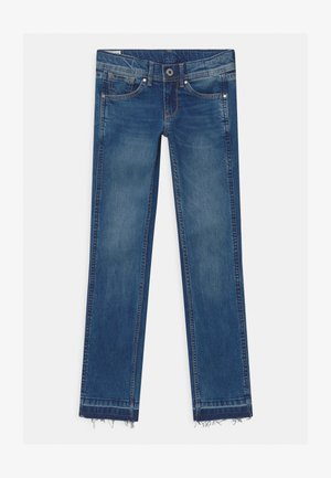 Straight leg jeans - denim