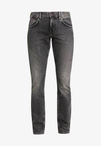 STRAIGHT DENTON ARGO - Straight leg jeans - black