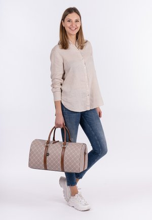 ANASTASIA - Weekend bag - light brown