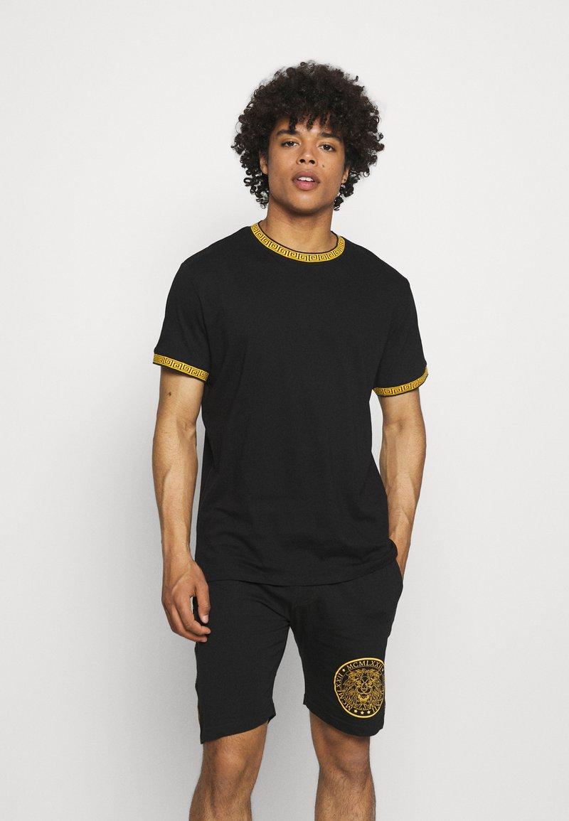 Brave Soul - T-shirt med print - jet black