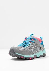 Merrell - MOAB FST LOW WTRPF - Hiking shoes - grey/turquoise/pink - 2