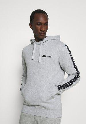 HOOD - Felpa - light grey melange