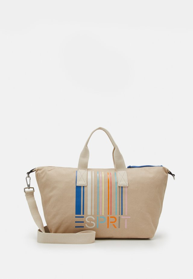 DEMI - Weekend bag - beige