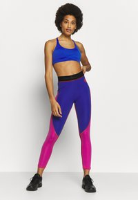 Napapijri - MILBE - Leggings - Trousers - blu/purple - 1