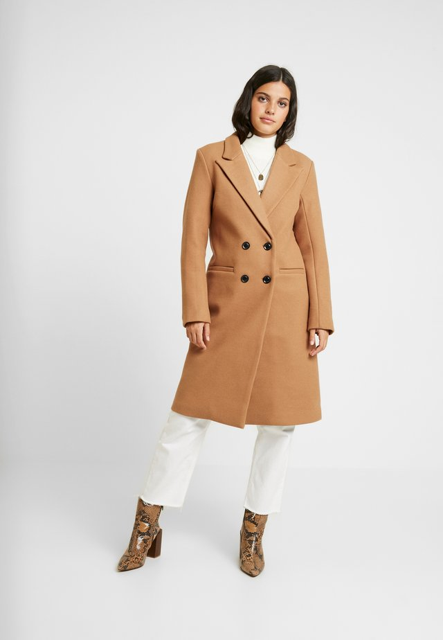 OBJLINA COAT - Kappa / rock - doe