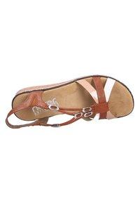 Rieker - Sandals - biancocognacskin (81) - 7