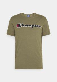 Champion Rochester - CREWNECK  - T-shirt imprimé - olive - 4