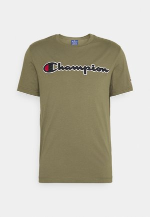 CREWNECK  - T-shirt con stampa - olive