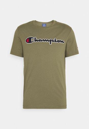 CREWNECK  - T-shirt imprimé - olive