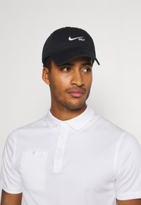 Nike Golf - WASHED SOLID - Cappellino - black/anthracite/sail - 0