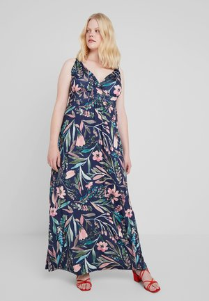 Maxi dress - rose/blue