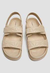 PULL&BEAR - Platform sandals - sand - 1