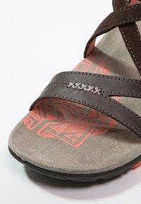Merrell - SANDSPUR  - Walking sandals - earth - 5