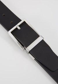 Calvin Klein - CASUAL BELT - Pásek - black - 5
