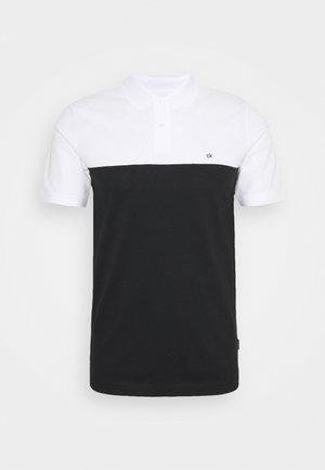 COLOR BLOCK SLIM  - Polo shirt - black
