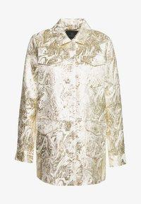 Bruuns Bazaar - LUNAS JACKET - Short coat - white/gold - 6