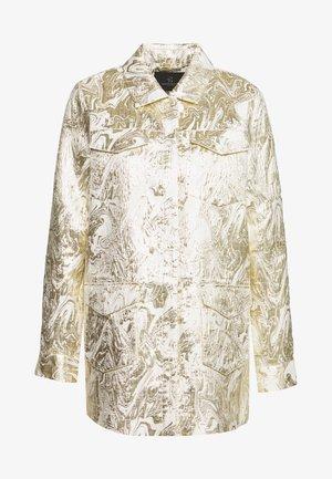LUNAS JACKET - Short coat - white/gold