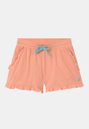RUFFLE BOTTOMS - Shorts - coral