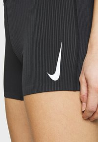 Nike Performance - AEROSWIFT SHORT - Tights - black/white - 5