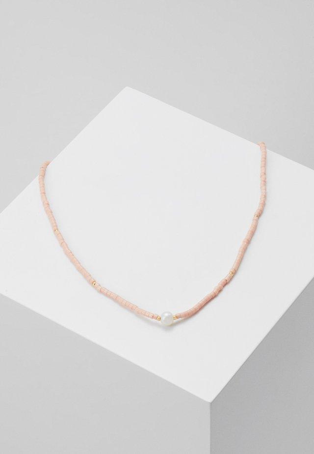COLLAR LENGTH  - Naszyjnik - coral