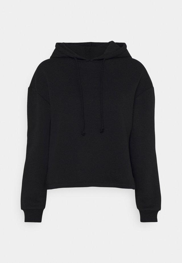 PCCHILLI HOODIE  - Bluza - black