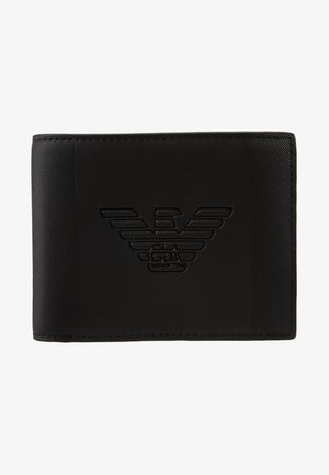 BILFOLD WALLET WITH COIN PURSE - Punge - black