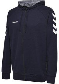 Hummel - HMLGO - Zip-up hoodie - marine - 2