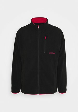 UNISEX - Fleece jacket - black