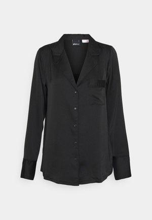 NICOLE  - Pyjama top - black
