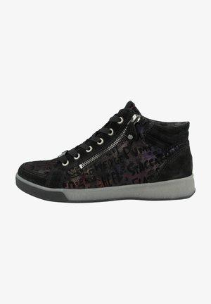 Höga sneakers - schwarz vulcan