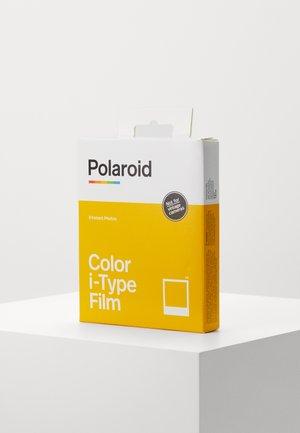 Camera film - multicoloured