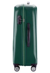 Wittchen - MITTLERER KOFFER - Wheeled suitcase - green - 3