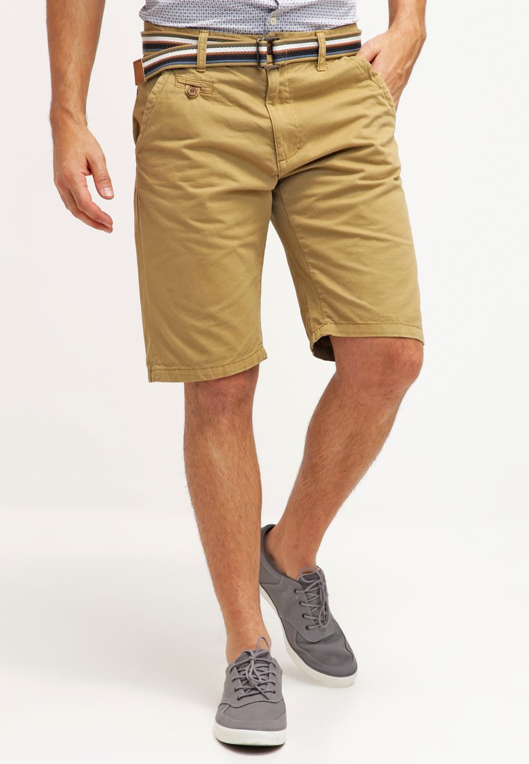 INDICODE JEANS - ROYCE - Shorts - amber