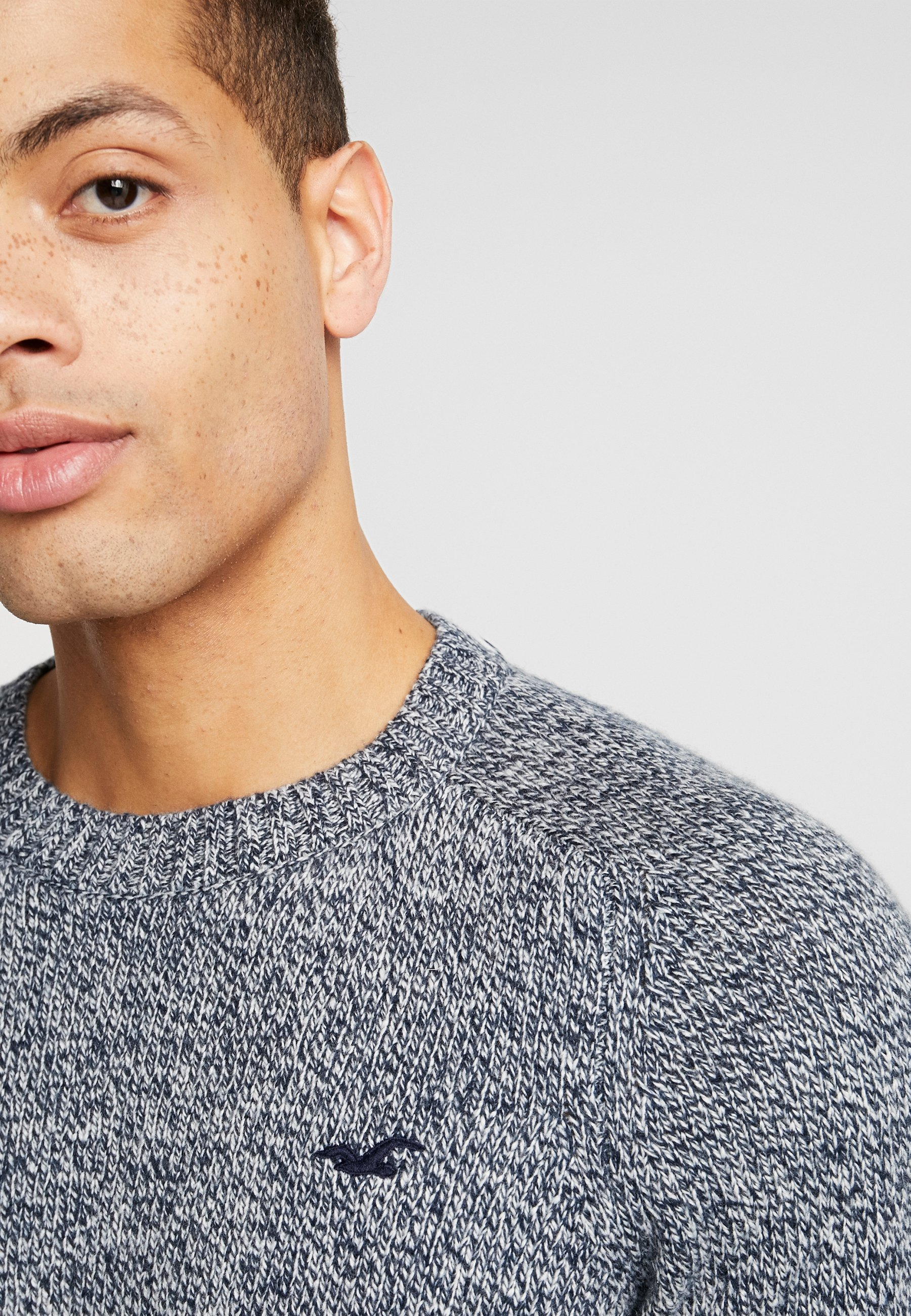 Hollister Co. CREW - Pullover - navy
