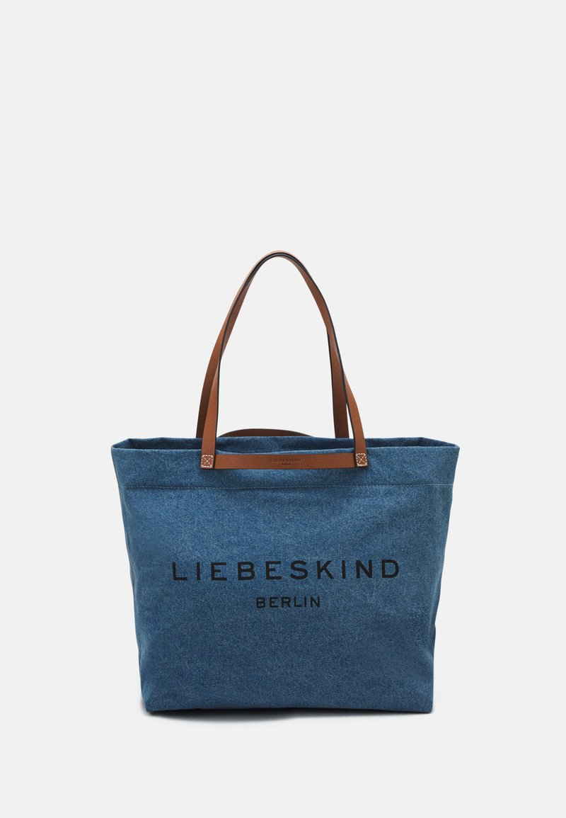 Liebeskind Berlin - AURORA ZIP - Tote bag - blue denim