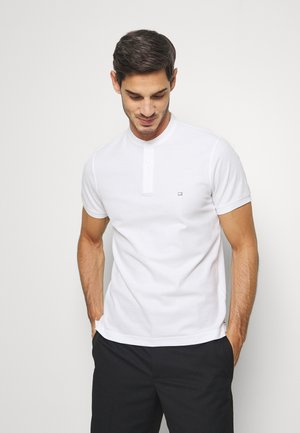 LUXURY STRETCH MAO SLIM - Basic T-shirt - white