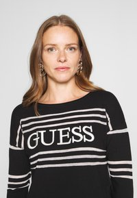 Guess - A$AP ROCKY ALESSIA - Jumper - black and white - 3