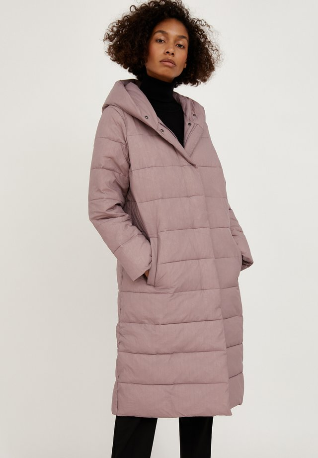 Winter coat - grey-pink